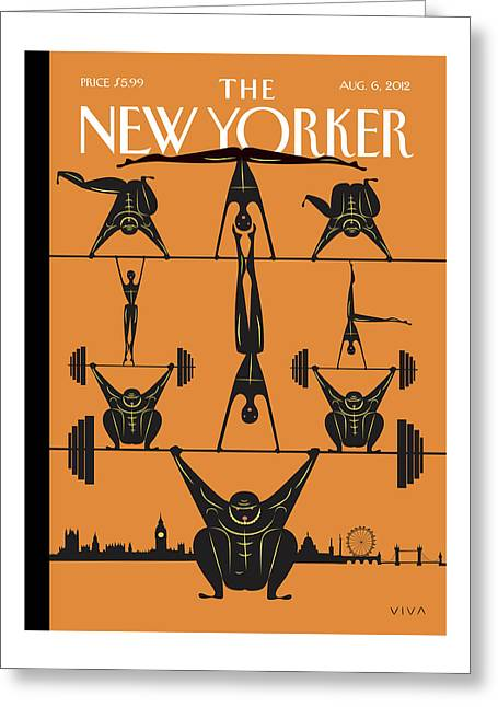 New Yorker August 6th, 2012 Greeting Card