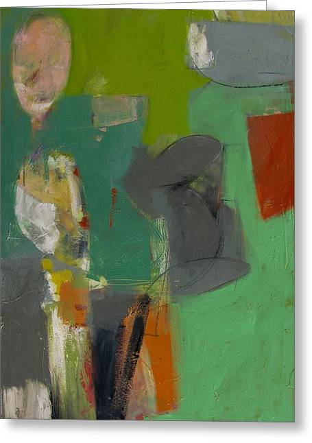 Greeting Card featuring the painting Untitled by Fred Smilde