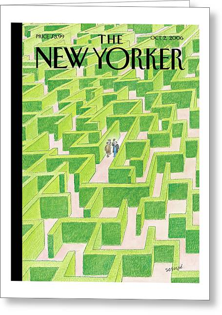 New Yorker October 2nd, 2006 Greeting Card