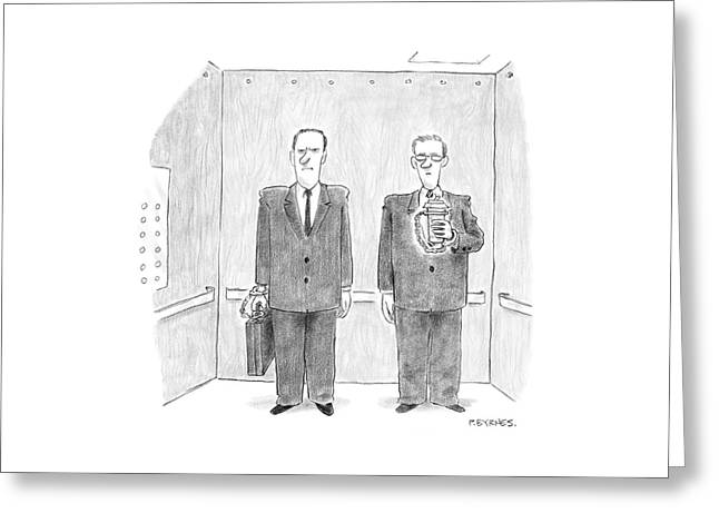 New Yorker February 7th, 2005 Greeting Card