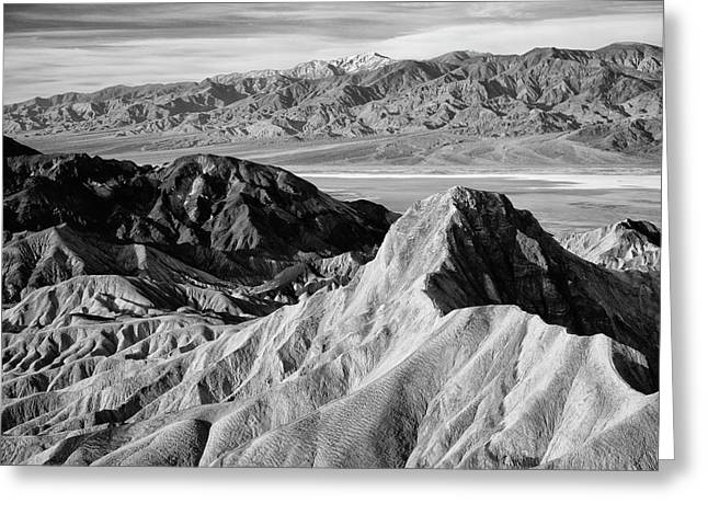 Usa, California, Death Valley National Greeting Card