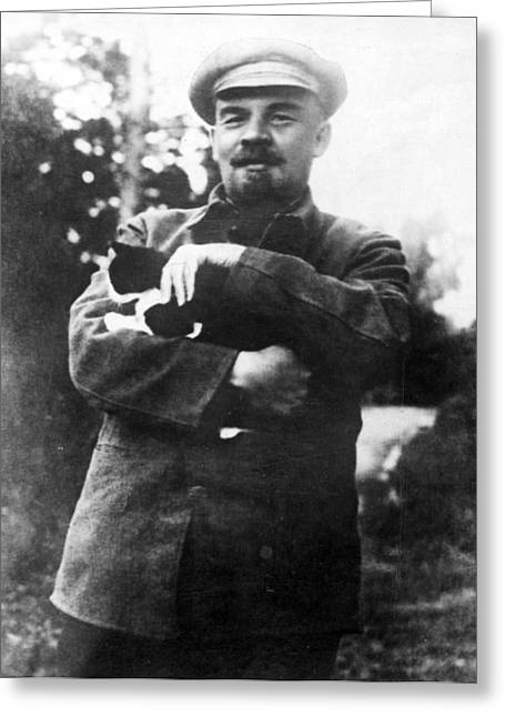 Vladimir Lenin (1870-1924) Greeting Card