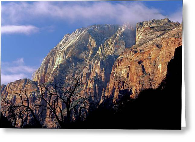 Zion National Park, Utah Greeting Card by Scott T. Smith