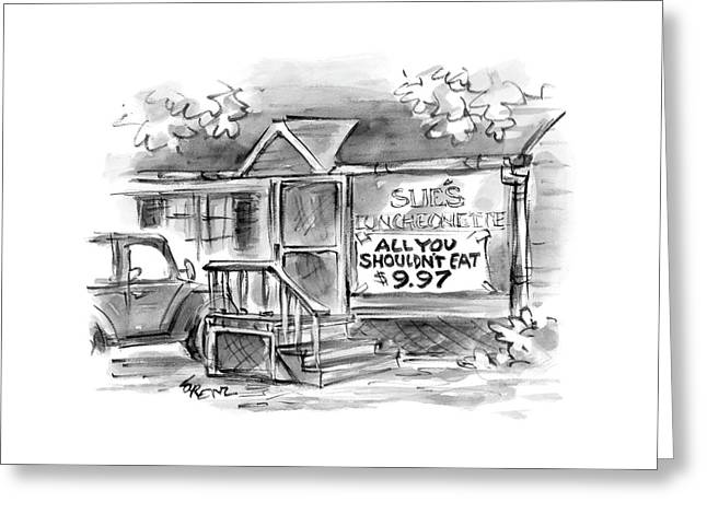 New Yorker September 6th, 2004 Greeting Card