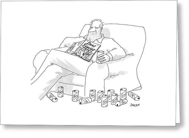 New Yorker July 25th, 2005 Greeting Card by Jack Ziegler