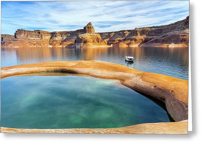 Usa, Utah, Glen Canyon National Greeting Card