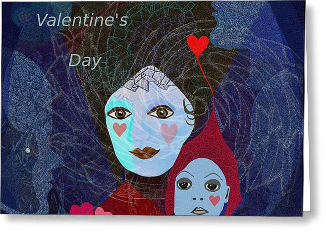 830 - Happy Valentines Day Greeting Card