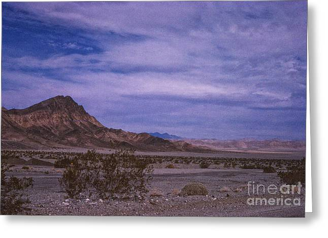 856 Sl The Desert Sky  Greeting Card by Chris Berry