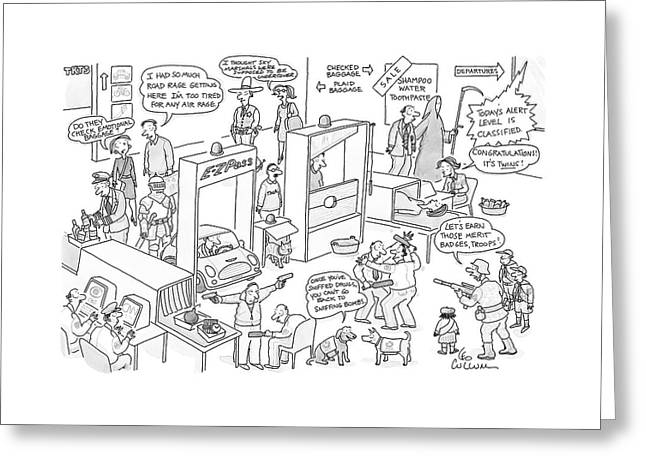 New Yorker November 27th, 2006 Greeting Card
