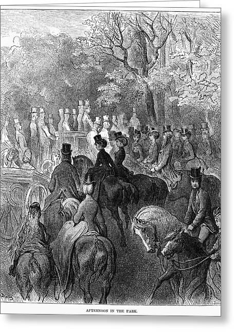 Dor� London, 1872 Greeting Card by Granger