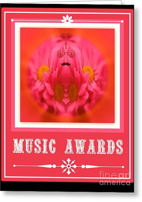 Music Awards Greeting Card by Meiers Daniel