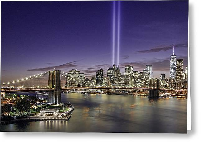 9-11-14 Greeting Card by Anthony Fields