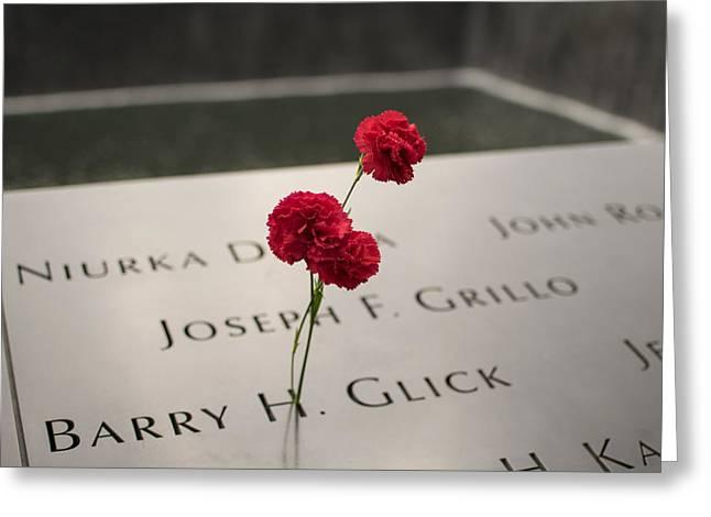9/11 Memorial Greeting Card by Jeffrey Miklush