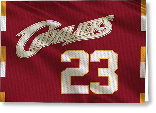 Cleveland Cavaliers Uniform Greeting Card