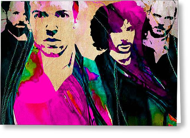 Coldplay Collection Greeting Card