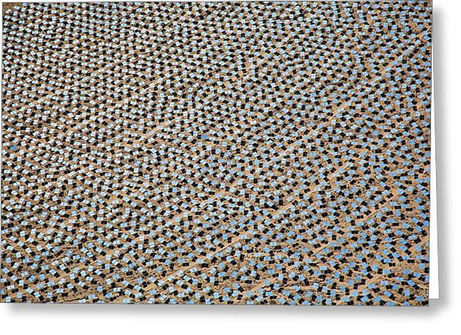 Concentrating Solar Power Plant Greeting Card by Jim West