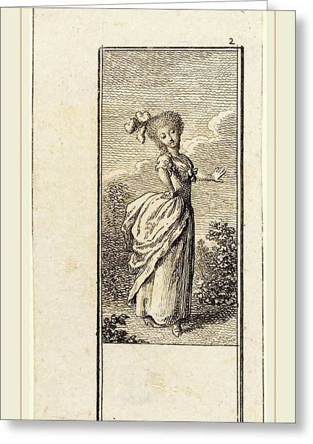 Daniel Nikolaus Chodowiecki German, 1726-1801 Greeting Card by Litz Collection