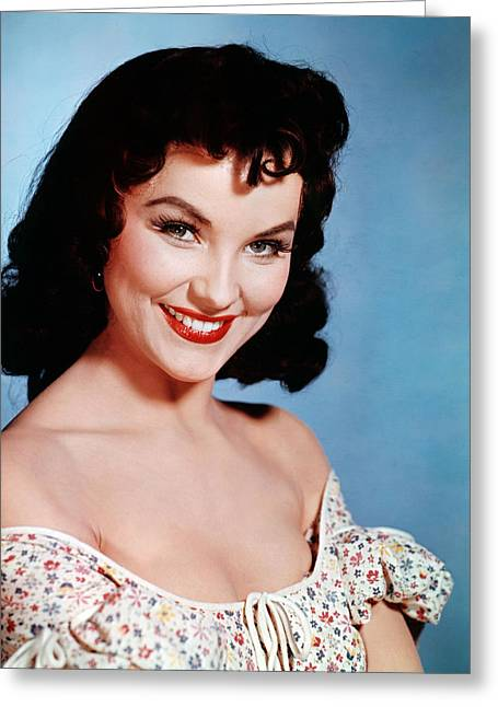 Debra Paget Greeting Card