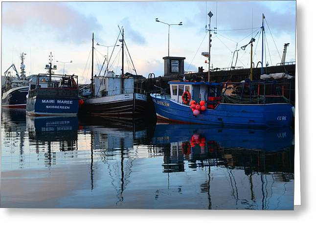 Dingle Harbor Greeting Card