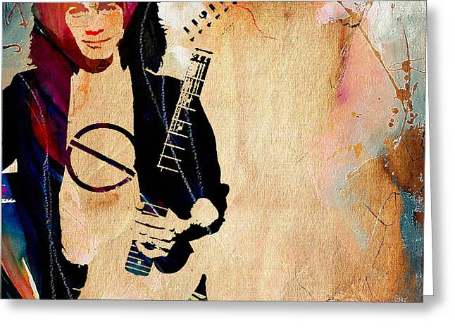 Eddie Van Halen Collection Greeting Card