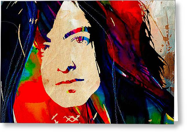 Jimmy Page Collection Greeting Card