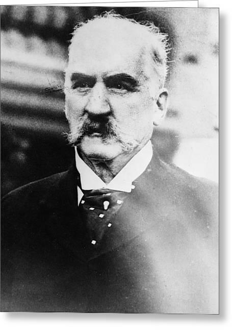 John Pierpont Morgan (1837-1913) Greeting Card