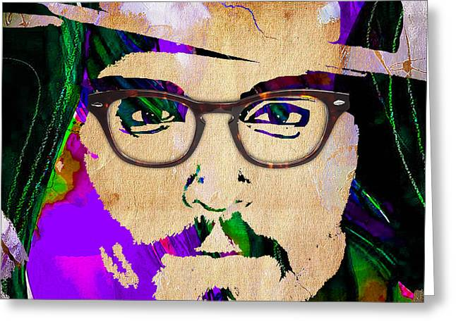 Johnny Depp Collection Greeting Card