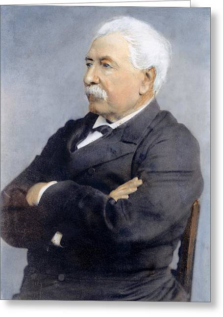 Lesseps (1805-1894) Greeting Card by Granger