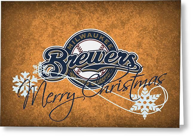 Milwaukee Brewers Greeting Card by Joe Hamilton
