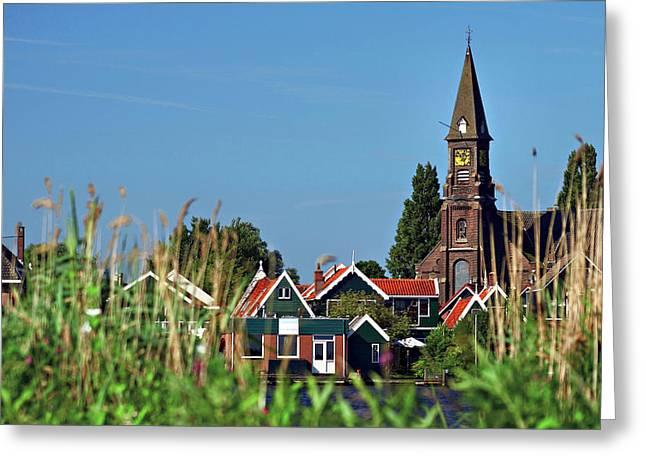 Netherlands, North Holland, Zaanstad Greeting Card