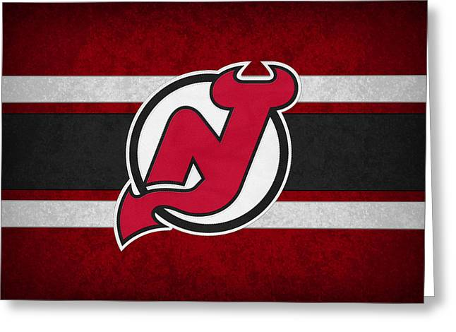 New Jersey Devils Greeting Card