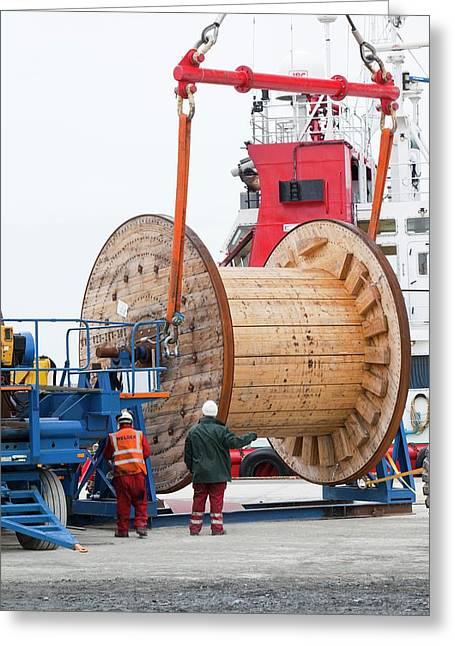 Pieces For The Walney Offshore Windfarm Greeting Card
