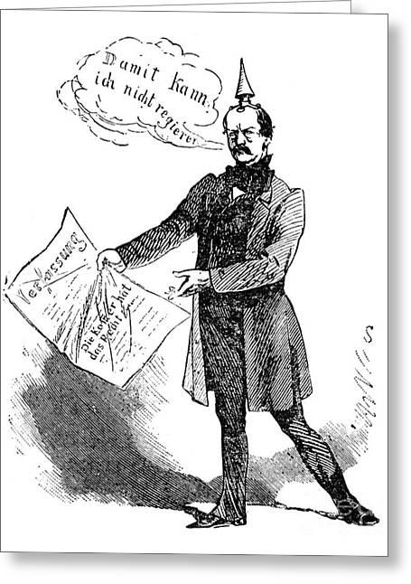 Prince Otto Von Bismarck  Greeting Card by Granger