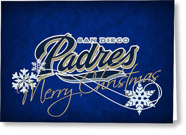 San Diego Padres Greeting Card