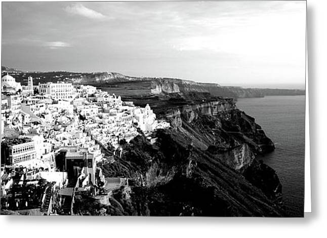 Santorini, Greece Greeting Card
