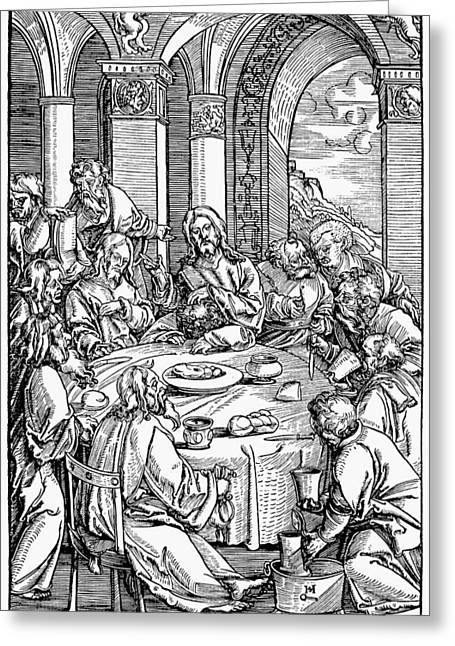 The Last Supper Greeting Card by Granger