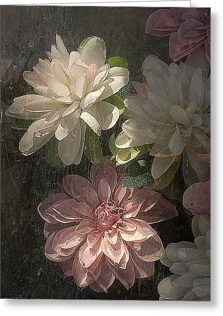 Tijuana Mexico Artificial Flower Arrangement Greeting Card by John Hanou