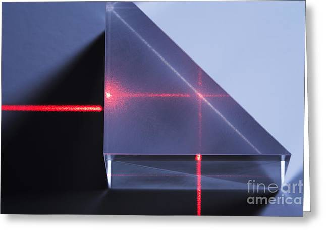 Total Internal Reflection Greeting Card by GIPhotoStock