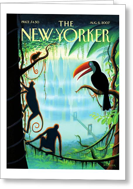 New Yorker August 6th, 2007 Greeting Card