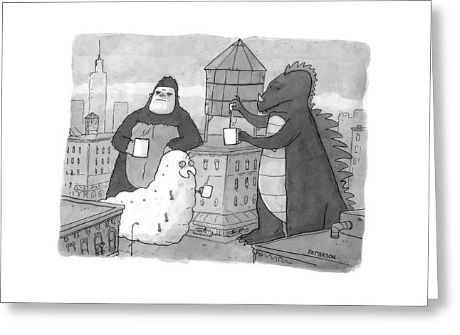 New Yorker March 16th, 2009 Greeting Card