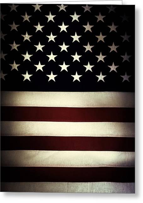 American Flag 60 Greeting Card