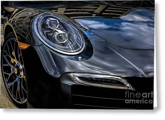 Greeting Card featuring the photograph 911 Turbo S by Ken Johnson