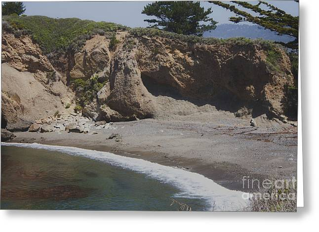 918 Pr Lobos Beach  Greeting Card by Chris Berry
