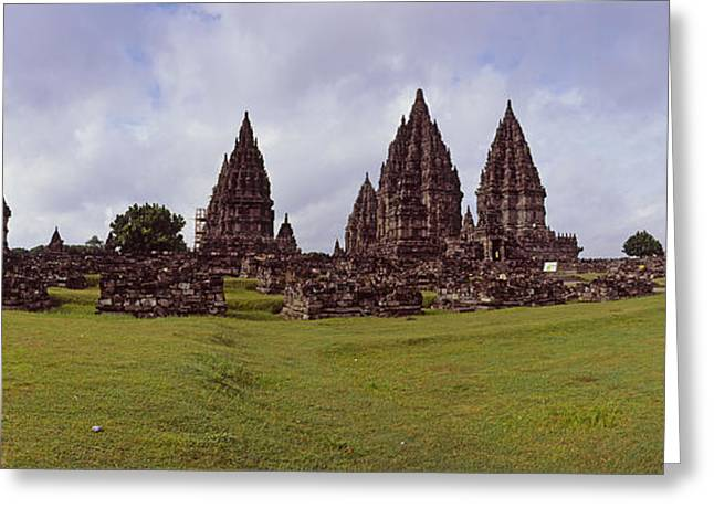 9th Century Hindu Temple Prambanan Greeting Card