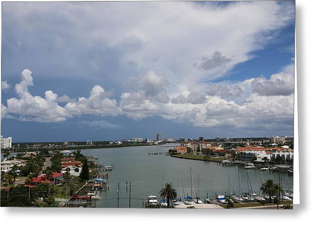 Clearwater Florida Greeting Card by Paul SEQUENCE Ferguson             sequence dot net