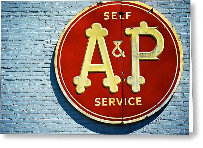 A And P Greeting Card