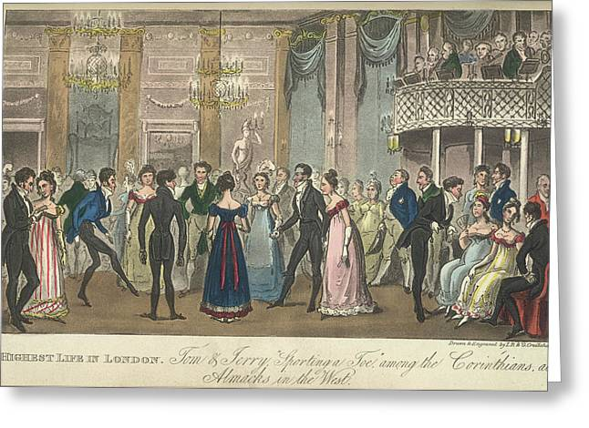 A Ballroom Greeting Card
