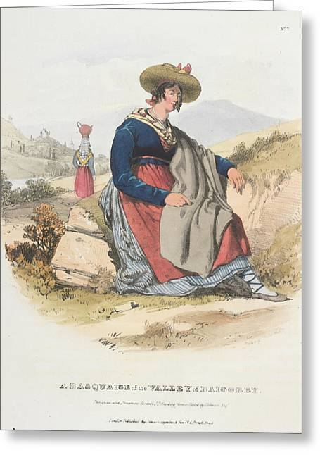 A Basquaise Greeting Card by British Library