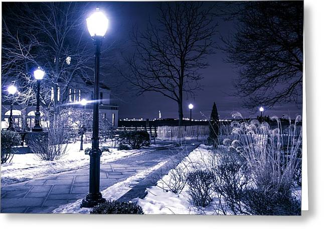 A Battery Park Winter Greeting Card