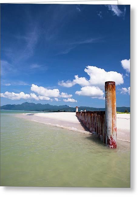 A Beautiful Day At Cenang Beach Greeting Card by Micah Wright
